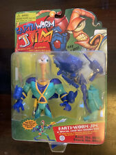 Earthworm Jim Action Figure In Special Deep Sea Mission Suit New In Box