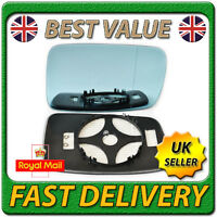 Right Driver Heated Blue Wing Mirror Glass for BMW Series 3 E46 Coupe 1998-2005
