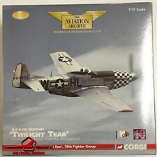 "Corgi 1:72 Aviation Archive AA32220 P-51D Mustang ""Twilight Tear"" 78th Fighter G"