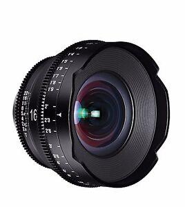 Rokinon XEEN XN16-N 16mm T2.6 Professional Cine Lens for Nikon