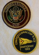1969 Congressional Cup Sailing Patch Lot
