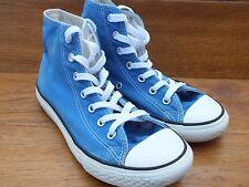 Converse CT All Star Tela Blu Sneaker Casual Taglia UK 2 EU 34