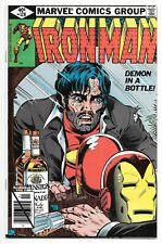 "IRON MAN #128 (11/79 Marvel) NM (9.4) ""DEMON IN A BOTTLE"" ALCOHOLISM COVER! KEY!"
