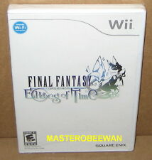 Wii & Wii U Final Fantasy Crystal Chronicles: Echoes of Time New Sealed