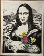 H903 Star Wars Darth Vader Mona Lisa Movie Character Portrait Poster Silk Art