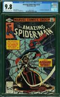AMAZING SPIDER-MAN 210 CGC 9.8 1st Appearance Madame Web -  Movie