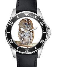 Eule Eulen Geschenk Fan Artikel Zubehör Fanartikel Uhr L-2741