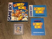 Donkey Kong Nintendo Game Boy Complete Excellent Condition Authentic