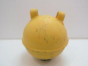 "E3C1507 6/"" METAL GLASS FLOAT BALL BUOY HOLDER no ball 4+1//2/"""