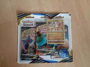 Pokémon TCG Teams sind Trumpf Blister Display Booster Ultra Necrozma Rarität !