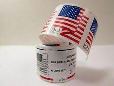 100 USPS Forever Stamps 2018 US Flag Postage coil. ~ORIG PKG~ FREE SHIPPING!!!