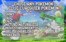 Pokemon Sword Shield Espada Escudo SHINY 6Iv's