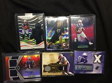 New England Patriots card lot rookie / auto Harry Michel vrabel