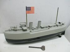 WW II TYPE GUN BOAT WIND UP EXCELLENT CONDITION WORKS GOOD