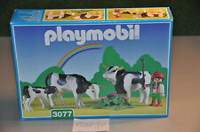 PLM31 playmobil MISB mint in sealed box 3077 boy with cows