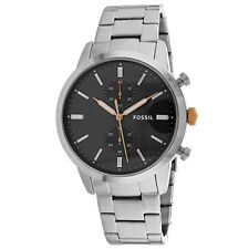 Fossil Men's 44mm Townsman Chronograph Stainless Steel Band Watch FS5407