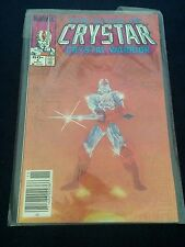 Crystar Crystal Warrior #4 Marvel Comics 1983