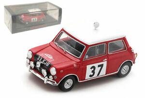 Spark S4890 Morris Mini Cooper #37 Winner Monte Carlo 1964 - Paddy Hopkirk 1/43
