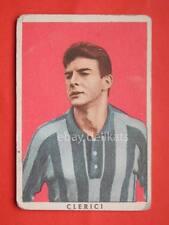 VECCHIA FIGURINA RASA calcio football 1961 LECCO Napoli Sergio Clerici