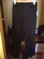 DKNY Jeans Black Stretch Pants FlareBottom Women'sEssentialWovens  Sz 8