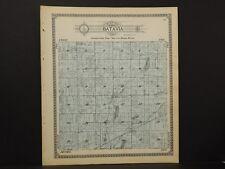 Michigan, Branch County Map, 1915 Township of Batavia L2#71