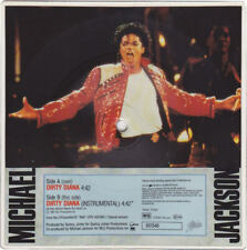 """Michael Jackson DIRTY DIANA Disque 45t 7"""" Vinyl Record Square PICTURE DISC 1988"""