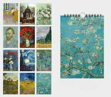 Van Gogh Painting Starry Night Almond Blossom (29*20cm) 12 sheets wall calendar