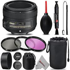 Nikon 50mm 1.8G AF-S Lens + UV + FLD + CPL + Blower Brush + Lens Pen & MORE!