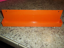 "ALL CRAFTSMAN NEED AN ORANGE POWDER COATED STEEL 1/2"" SOCKET SET TRAY ORGANIZER"