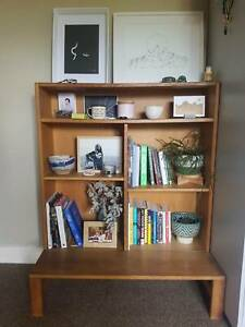 Danish Teak Bookshelf with Adjustable Shelves