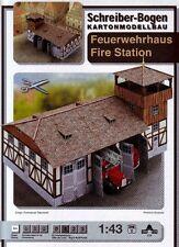 Schreiber-Bogen Kartonmodellbau Feuerwehrhaus