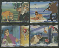 The Fox and the Hound Disney mnh set of 4 stamps 2010 Mali