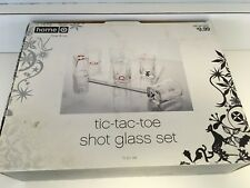 tic-tac-toe Shot Glass Set & Board