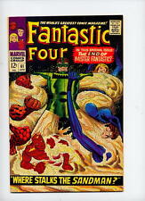 Fantastic Four #61, 1967, Sandman new costume, Surfer cameo