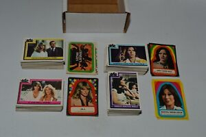 Charlies Angels Topps Trading Card Ultimate Complete Set 253 Cards + 44 Stickers