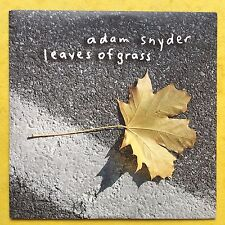 Adam Snyder - Leaves Of Grass - Card Sleeve - Promo CD