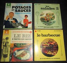 4 Marabout Flash sur la cuisine (Riz -Salades -Barbecue - Potages et sauces)