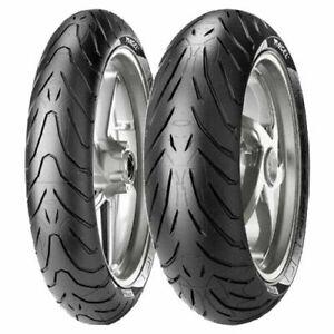 PNEUMATICI 120/70/ZR/17 180/55/ZR/17 Coppia gomme moto Pirelli Angel St  Omaggio