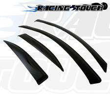 2MM Window Visor Wind Guard Outside Mount 4pc For 2013-2016 Lexus GS350 GS450h
