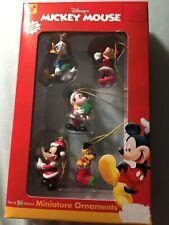 Disney Mickey Mouse - Mini Ornament Set