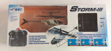 HOBBY ENGINE STORM-III Remote Control Helicopter Ages 8+ NIB