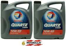 2x 5l LITER TOTAL QUARTZ 7000 ENERGY 10W40 MB 229.1 VW 501.01/502.00/505.00 10L