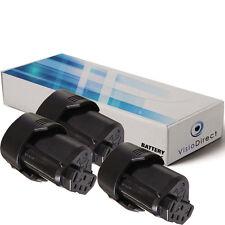 Lot de 3 batteries 12V 2000mAh pour AEG BS12C BLL12C BS12C2 BSS12C BWS12