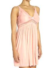 Eberjey Colette Chemise Women's peach Large MSRP $86 baby doll pjs