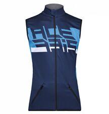 Vest Cross Enduro Acerbis Gilet Softshell X-wind Blu Antivento con tasche Tg M