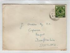 PAKISTAN: 1950s cover to Scotland (C29206)
