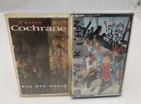 Rock Cassette Tapes Set of 2 Greg Kihn Love Rock & Tom Cochrane Mad Mad World