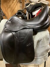 Prestige X-D1D Zero Dressage Saddle 17M - Slightly Used