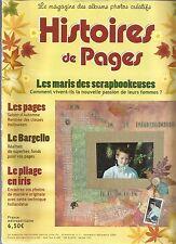 HISTOIRES DE PAGES N°01 SAISON D'AUTOMNE / RENTREE DES CLASSES / HALLOWEEN