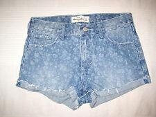 A&F Abercrombie & Fitch Jeans SHORTS blau Gr. 16 152 158 wie NEU kurze Hose